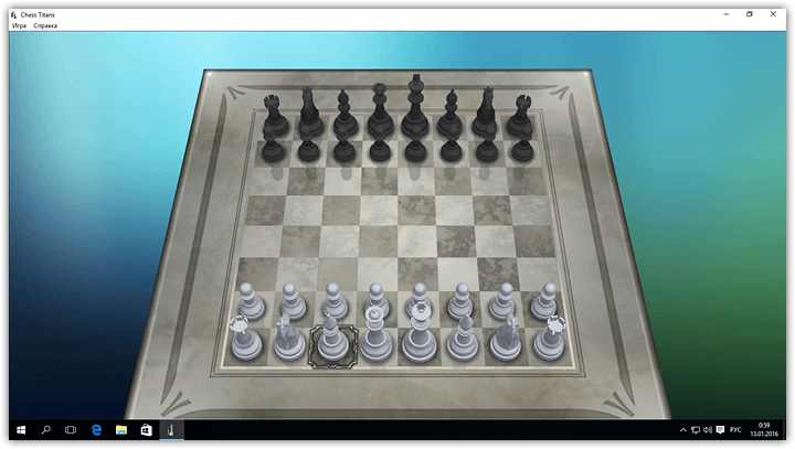 Chess, Minesweeper, Solitaire and other Windows 7 games for Windows 10 (16)