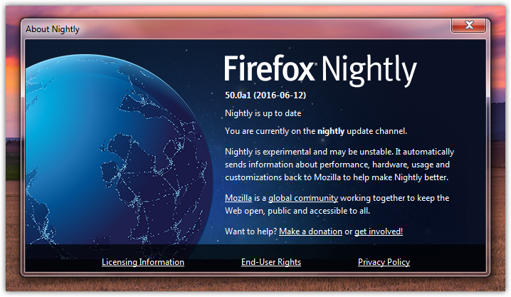 What's new in Firefox Beta, Developer Edition and Nightly (9)