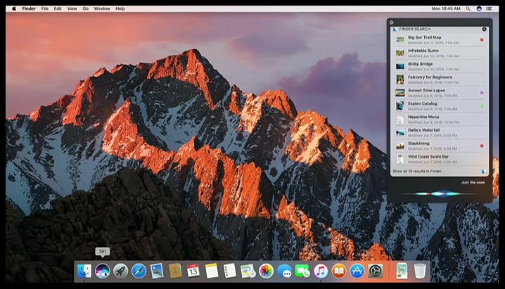 macOS Sierra Siri (2)