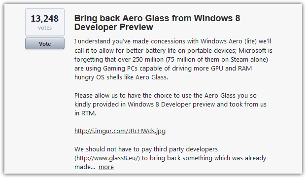 Windows 10 users wishes and ideas (3)