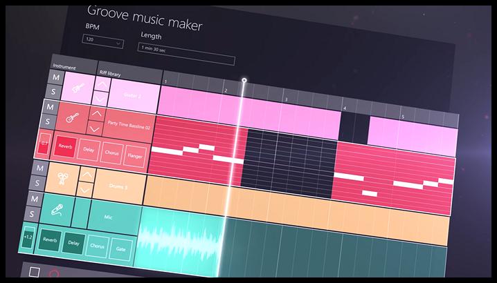 windows-10-creators-update-8-groove-music-maker