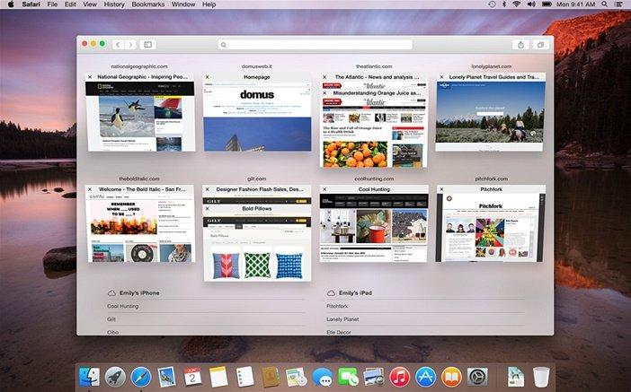 Прозрачность окон macOS