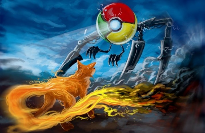 Firefox 2017 vs Chrome