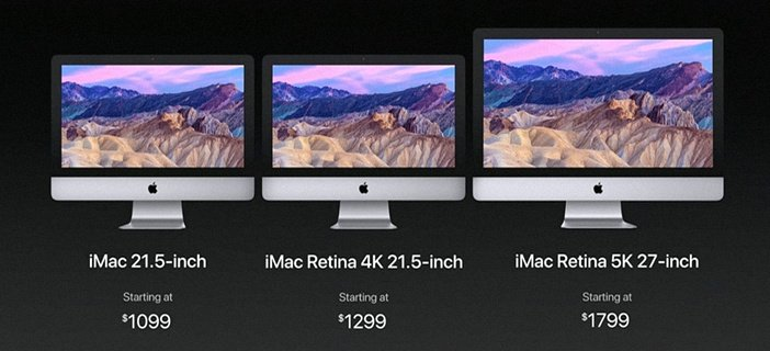 Модели iMac