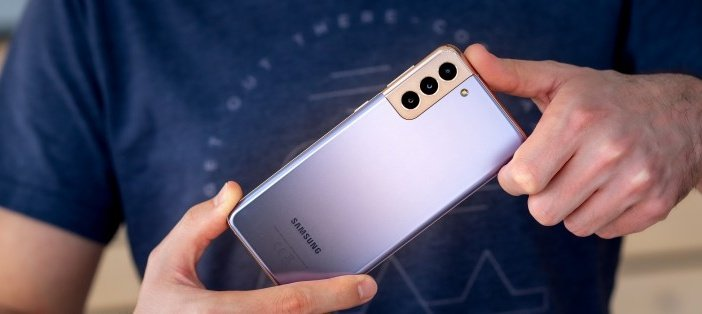 Новый дизайн смартфонов Galaxy S21