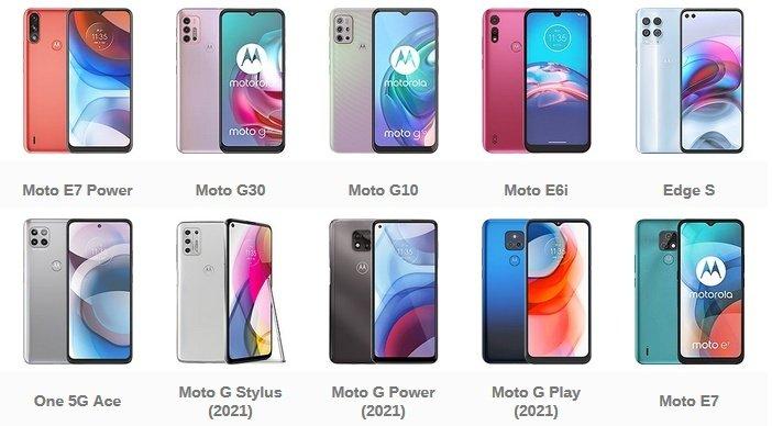 Актуальные смартфоны Motorola