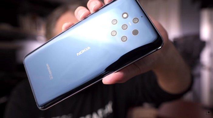 Nokia 9 - первый смартфон с пятью камерами