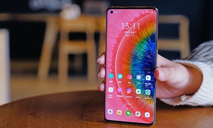 Дисплей Find X2 Pro с отображением миллиарда цветов