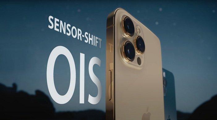 Новая технология стабилизации съёмки от Apple