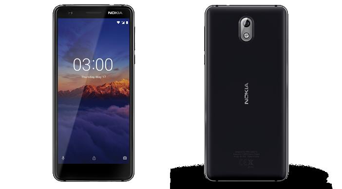 Смартфон Nokia 3.1