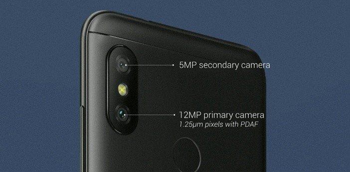 Камеры Xiaomi A2 Lite