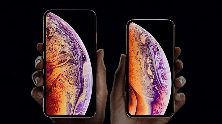 iPhone Xs Max and iPhone Xs