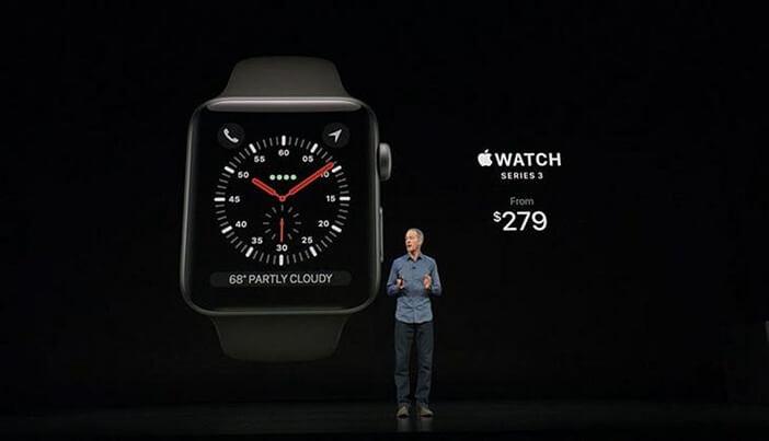 Цена Watch Series 3