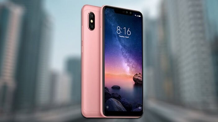 Redmi Note 6 Pro розовый