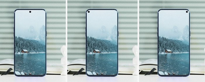 Отверстия в дисплеях смартфонов 2019