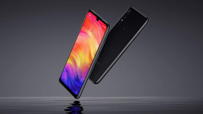 Redmi Note 7 вырез в экране