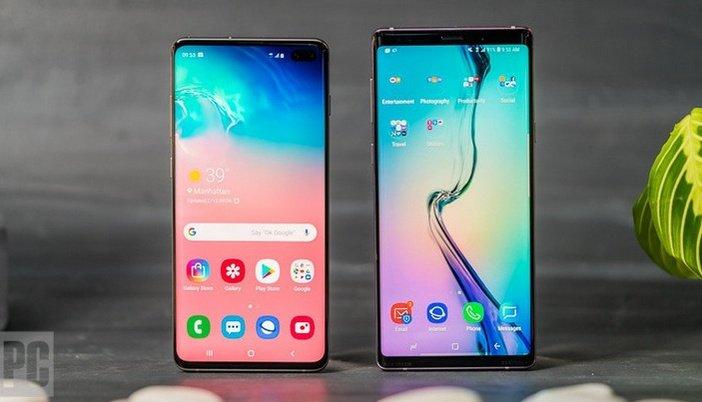 S10+ и Galaxy Note 9