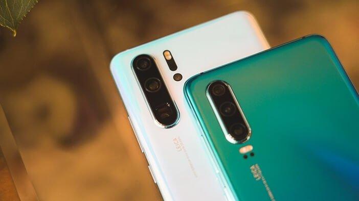 Тройная и четверная камера в Huawei P30 и P30 Pro