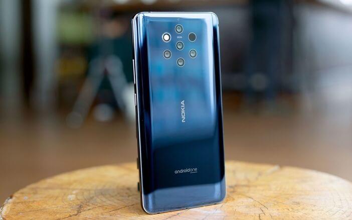Nokia 9 PureView – пять камер от Nokia