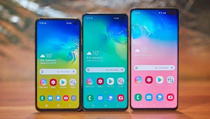 Samsung Galaxy S10e S10 и S10 Plus – главные смартфоны производителя в 2019