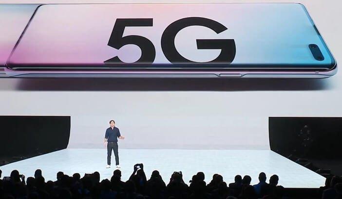 Первый смартфон Samsung с 5G