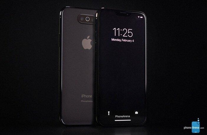 Возможный дизайн iPhone 2019