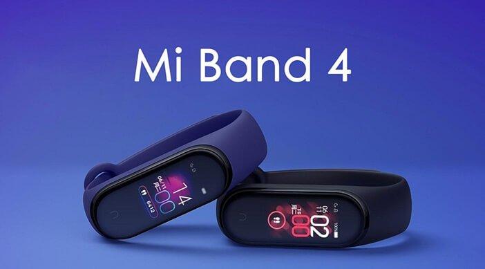 Xiaomi Mi Band 4 на официальных изображениях