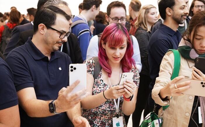 Первое знакомство с iPhone 11 Pro после презентации