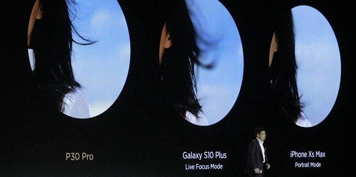 ToF 3D камера улучшает боке в P30 Pro