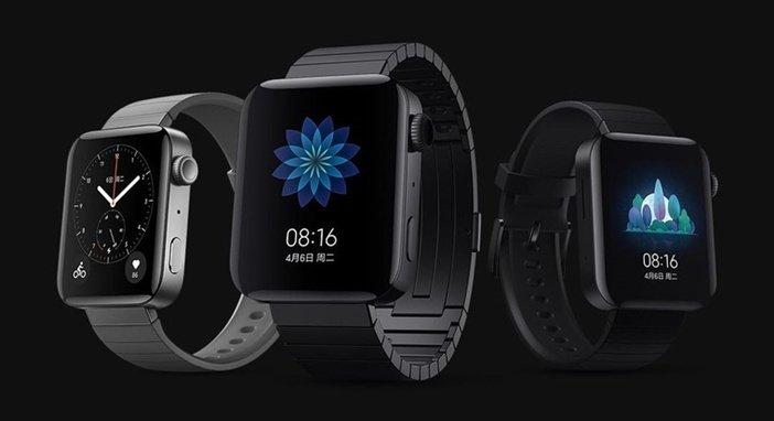 Mi Watch - цвета корпуса и элементы управления