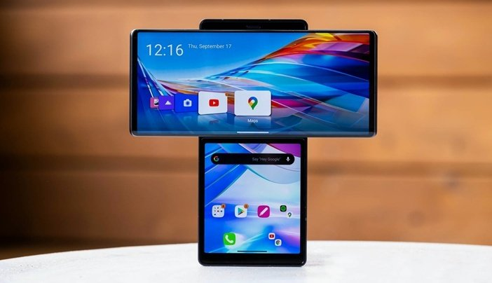 Экспериментальный смартфон LG