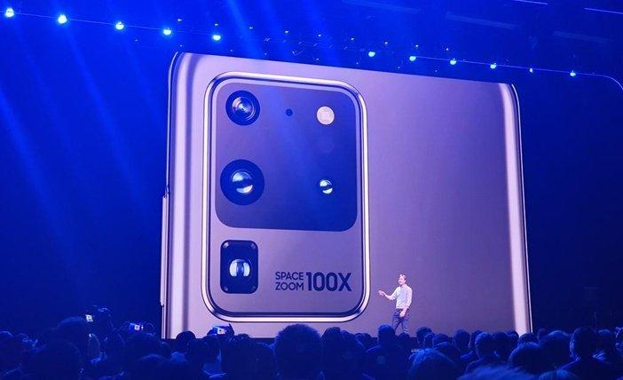 Блок камер Galaxy S20 Ultra