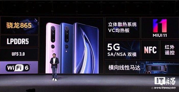 Особенности Xiaomi Mi 10