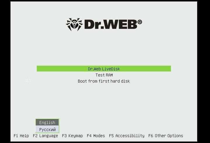 Dr.Web Live Disk