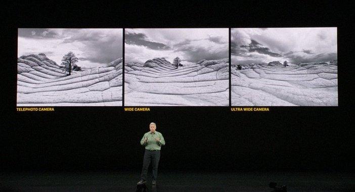 Отличия телефото, широкоугольной и сверхширокоугольной камеры