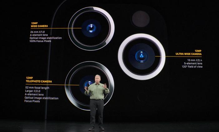 Параметры камер iPhone 11 Pro