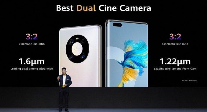 Камеры Huawei Mate 40 Pro