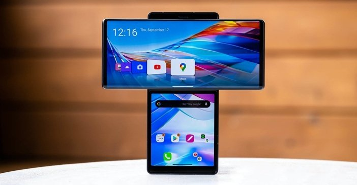 LG Wing - самый необычный смартфон производителя
