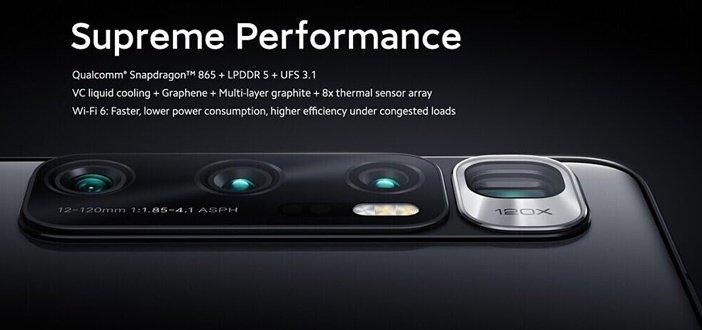 Новая система камер в Mi 10 Ultra