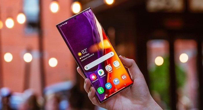 Рекордный по характеристикам дисплей Galaxy Note 20 Ultra