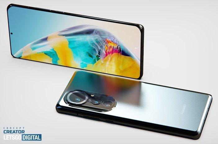 Предполагаемый вид Huawei P50