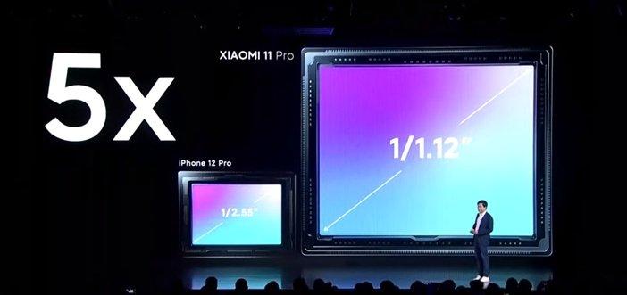Камера нового флагмана Xiaomi в сравнении с iPhone