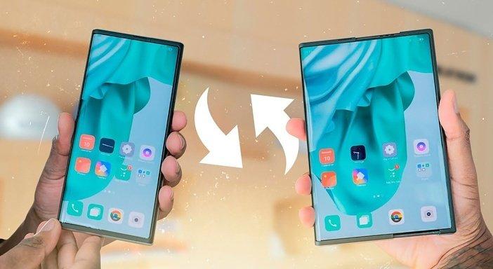 Раздвижной смартфон Oppo