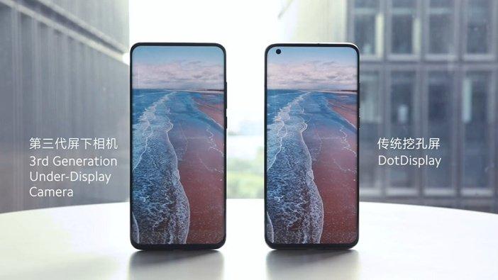 Xiaomi с подэкранной камерой