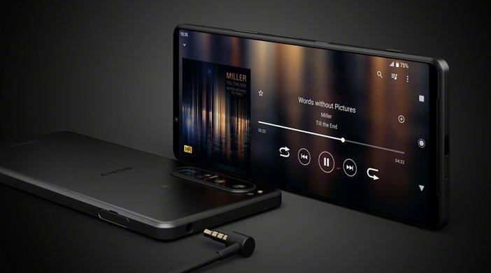 Аудиоразъём 3.5 мм в Xperia 1 III