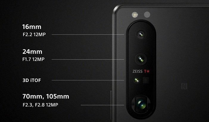 Характеристики камер нового флагмана Sony Xperia