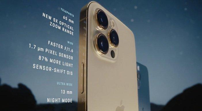 Характеристики камеры iPhone 12 Pro Max