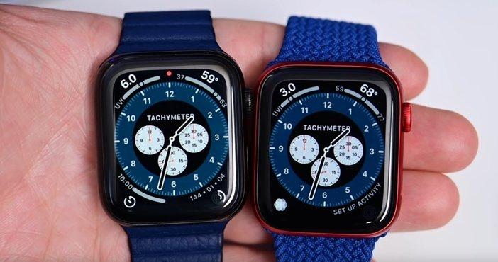 Watch 5 и Watch 6 разница экрана в режиме Always On