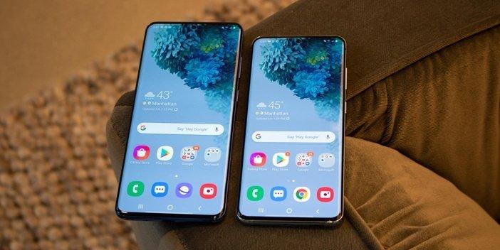 Galaxy S20+ и S20 бок о бок