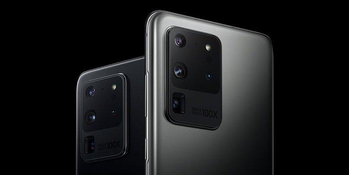 Задние камеры Galaxy S20 Ultra